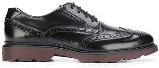 Hogan brogue lace-up shoes