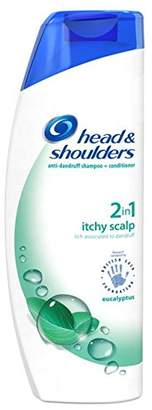 Head & Shoulders Anti-Dandruff 2-in-1 Shampoo and Conditioner for Itchy Scalp, 450 ml, Pack of 6