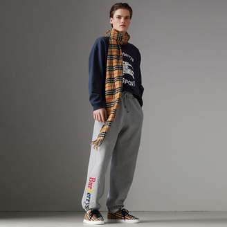 Burberry Archive Logo Jersey Sweatpants