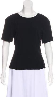 A.L.C. Open Back Short Sleeve Top w/ Tags