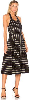 Lover Frame Halter Midi Dress