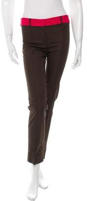 Sophie Theallet High-Rise Straight-Leg Pants w/ Tags