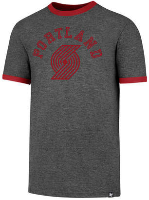 '47 Men's Portland Trail Blazers Capital Ringer T-Shirt