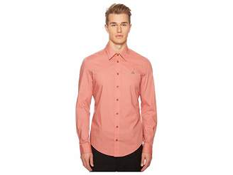 Vivienne Westwood Stretch Poplin Classic Shirt Men's T Shirt