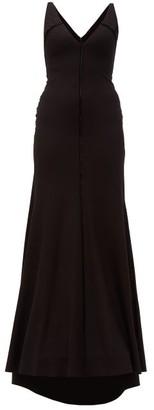 Maria Lucia Hohan Faith Stretch Jersey Maxi Dress - Womens - Black