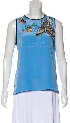 Andrew Gn 2016 Silk Top