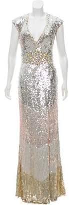 Jovani Sequined Evening Dress