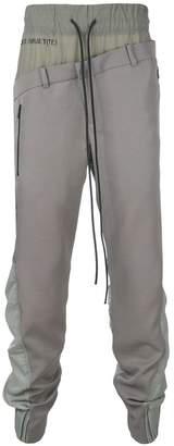 Bmuet(Te) double waistband trousers