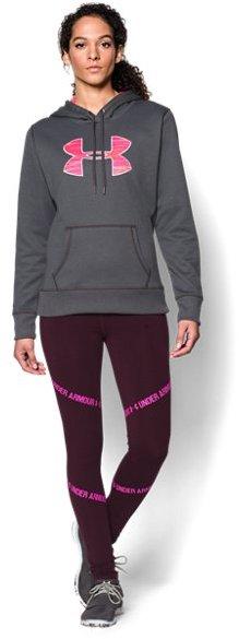 Women's UA Storm Armour® Fleece Printed Big Logo Hoodie