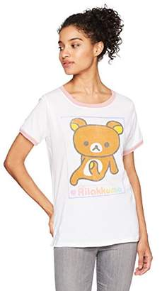 Goodie Two Sleeves Junior's Rilakkuma Just a Pose Wpn Ringer Top