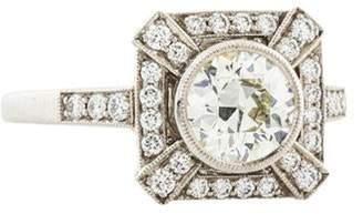 d Collection Sophia Platinum 0.91ct Diamond Engagement Ring Sophia Platinum 0.91ct Diamond Engagement Ring