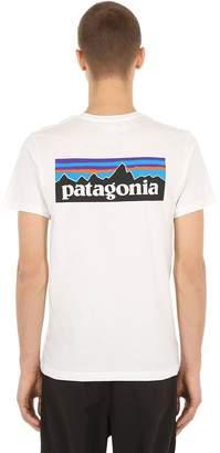 Patagonia P-6 Logo Organic Cotton Jersey T-Shirt