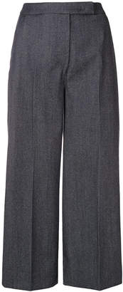 Max Mara classic cropped trousers
