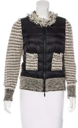 Moncler Maglione Tricot Knit Jacket
