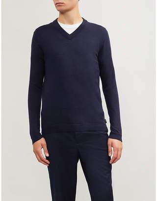 Ted Baker V-neck knitted jumper