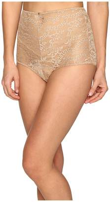 Versace Lace High Waisted Panty Women's Underwear