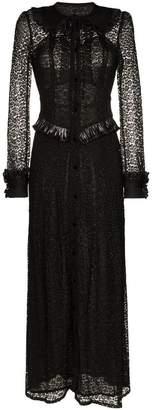 Alessandra Rich Lace Maxi Dress