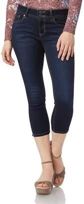 Wallflower Juniors' Insta Soft Skinny Crop Jeans