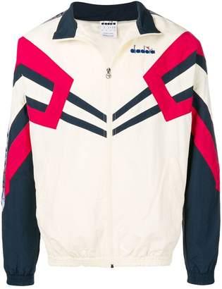Diadora colour block track jacket