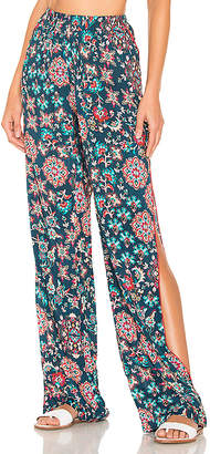 Luli Fama Cordoba Split Side Wide Leg Pant