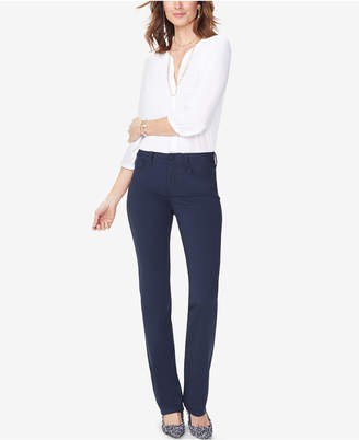 NYDJ Marilyn Tummy-Control Straight-Leg Pants