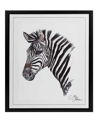Hawkins Marisota Meg Framed Wall Art - Zebra