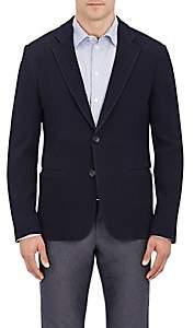 Giorgio Armani Men's Stretch-Wool Two-Button Sportcoat-Navy