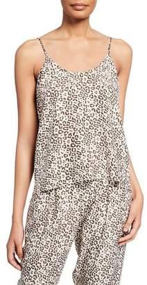 ATM Anthony Thomas Melillo Lunar Leopard-Print Silk Camisole