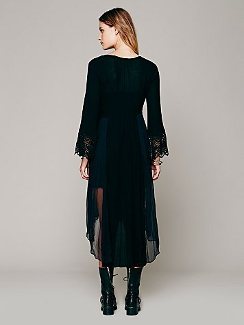 Free People Sailing At Dusk Dress