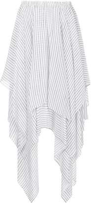 Preen Line striped handkerchief skirt