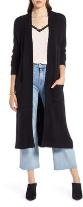 Halogen Long Sweater Coat