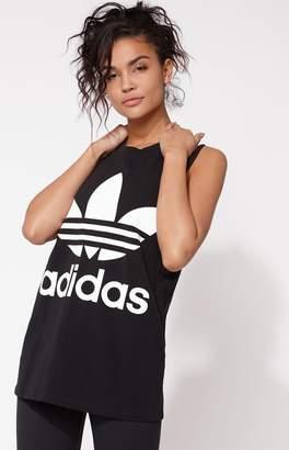 adidas Adicolor Black Trefoil Tank Top