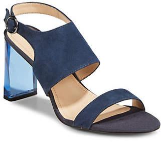 DKNY Stina Leather Sandals