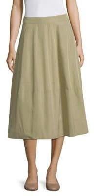 Peserico Taffeta Midi Skirt