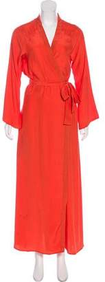 Rhode Resort Long Sleeve Maxi Dress