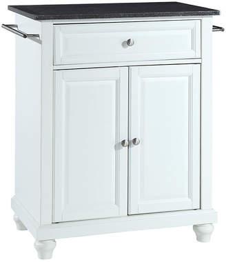 Asstd National Brand Pelham Small Black-Granite-Top Portable Kitchen Island