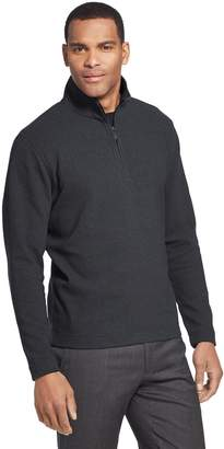 Van Heusen Men's Ottoman Flex Quarter-Zip Knit Top