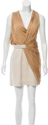 Alexander Wang Draped Satin Dress