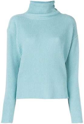 Lamberto Losani ribbed knit sweater