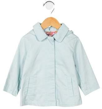 Stella McCartney Girls' Hooded A-Line Coat w/ Tags