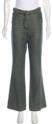Chanel Mid-Rise Flared Jeans