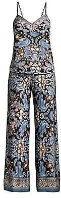 In Bloom Women's Julia Two-Piece Printed Camisole & Pants Set