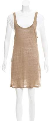 Joseph Linen T-Shirt Dress