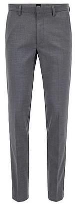 HUGO BOSS Slim-fit chinos in mercerised stretch fabric