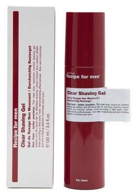 clear Recipe for Men Shave Gel 100ml