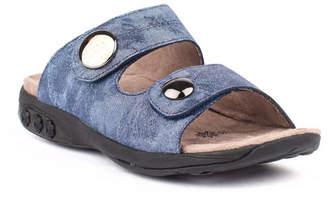 Therafit Shoe Eva Leather Adjustable Strap Slip On Sandal Women Shoes