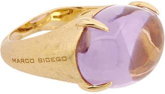 Marco Bicego Confetti 18K Yellow Gold Amethyst Ring