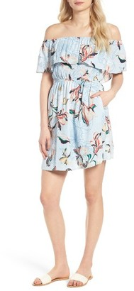 Women's Cupcakes And Cashmere Potter Off The Shoulder Dress $115 thestylecure.com