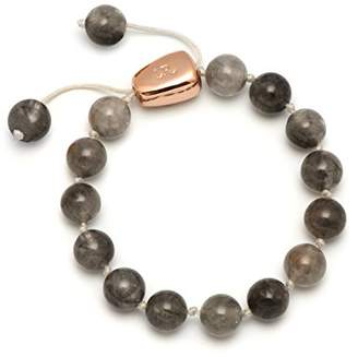 Lola Rose Women's Base Metal Jasmyn Cloudy Quartz Bracelet of Length 20-26 cm