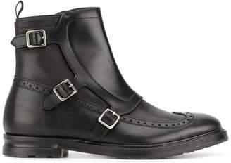 Alexander McQueen buckled boots